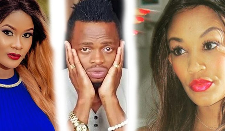 Image result for diamond platnumz and her girlfriends
