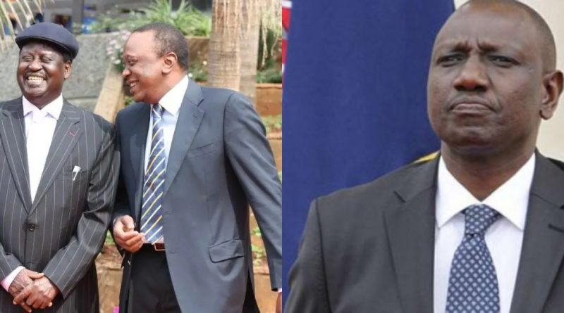 Is Uhuru Favoring Raila Over Ruto for 2022 Presidential Bid?